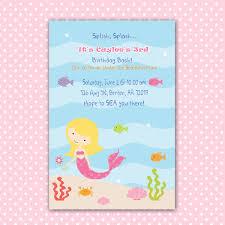 Birthday Card Shower Invitation Wording Photo Under The Sea Baby Image