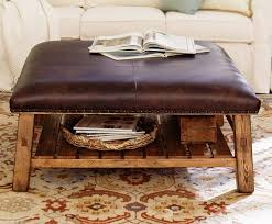 round leather ottoman coffee table. Lovely Round Leather Ottoman Coffee Table With Inside Plan 12 E