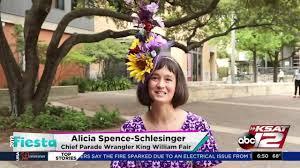 Fiesta Faces: Alicia Spence-Schlesinger, Chief Parade Wrangler ...