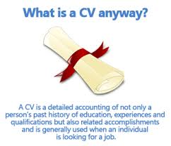 setting out a cv how to write a cv curriculum vitae sample template included