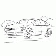 Kleurplaat Audi A3 Information And Ideas Herz Intakt