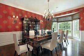 Red Dining Rooms Room Ideas Design Accessories Pictures Desig New Red Dining Rooms Collection