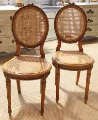 french cane chair. Pair Of Early 20C French Cane Chairs Chair