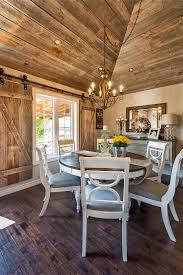 whitewashed brick reclaimed barn wood shiplap interiors