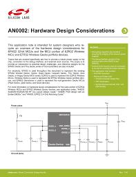 An0002 Efm32 Hardware Design Considerations An0002 Hardware Design Considerations Manualzz Com