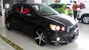 Chevrolet Sonic 2015 versión ZMX Personalizado! - YouTube