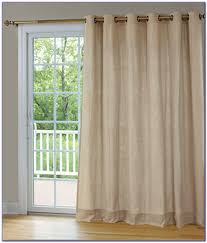 Decorating Ideas Sliding Glass Door Curtains Horizontal Vertical ...