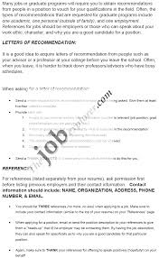 of recommendation for a job template letter of recommendation for a job template