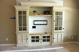entertainment center plans wall units how to build built in free custom with fireplace