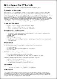 Complete Resume Example Carpenter Resume Sample Resume Sample Fresh ...