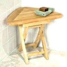 teak corner shower bench teak corner shower stool folding small wood bench mini teak corner shower