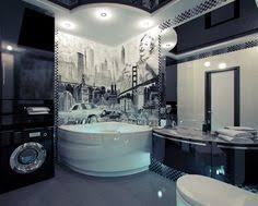 Image unique bathroom Design Ideas Unique Bathrooms For Exclusive Homes American Themed Mural Unique Bathrooms Bidycandycom Bathroom Pinterest 13 Best Unique Bathrooms Images Bathroom Bathrooms Toilets