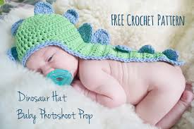 Free Baby Crochet Patterns Magnificent Crochet Pattern Baby's Dino Hat With Cape