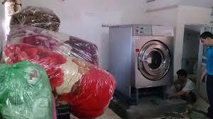 Máy giặt công nghiệp giặt chăn - YouTube