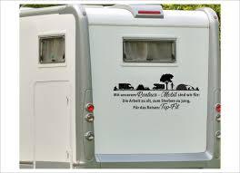 Aufkleber Wohnmobil Wohnwagen Auto Rentner Reise Camping Zelt