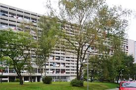 Le Corbusier Unité Dhabitation Of Berlin The Strength Of