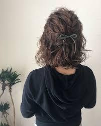 平原さんのヘアスタイル およばれヘアボブアレンジ Tredina