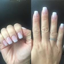 sns nails french manicure best nail designs 2018 pink glitter colors