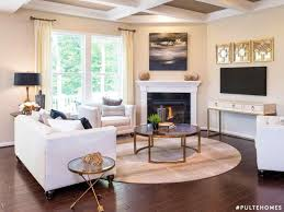 round living room furniture. Room Furniture Arrangement With Corner Fireplace Tile Ideas For Your Home Round Rugs Living S