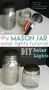 glass solar garden lights beautiful mason jar solar light diy crafts lighting mason jars outdoor