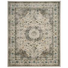 safavieh evoke gray gold 8 ft x 10 ft area rug
