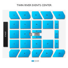 Rivers Casino Event Center Seating Chart Twin River Events Center Tickets