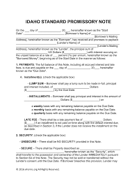 New Jersey Satisfaction Of Mortgage Form Idaho Standard Promissory