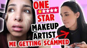 i went to the worst reviewed makeup artist on yelp in my city i was scammed mar