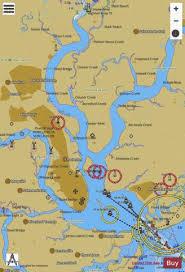 Charleston Nautical Chart Charleston Harbor Marine Chart Us11524_p215 Nautical