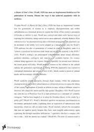 gender studies final essay virginia woolf gcst  gender studies final essay virginia woolf
