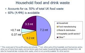 Food Waste Chart Total Food Waste Pie Chart Exposing The Truth