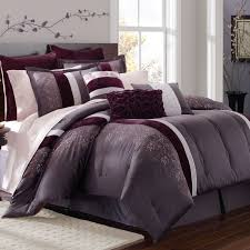 cali king bedding purple and gray s
