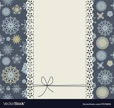 Cute Background With Snowflakes For Happy New