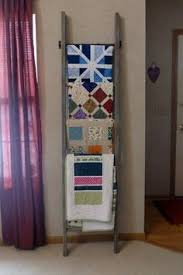 Quilt Rack Plans - PlansPin.com - Quilt Display Hangers & Antique Ladder Quilt Rack Adamdwight.com