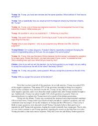 st presidential debate was biased album on ur my essay proving that the commision on presidential debates was biased towards donald trump