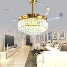 crystal ceiling fan light kit crystal ceiling fan inch gold modern led crystal ceiling fans with crystal ceiling fan light kit