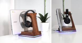 they deserve a suave headphone stand to hold them up for the world to see if you re adventurous that means building something with your own two hands