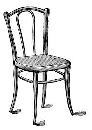 chair clipart. antique chair clipart