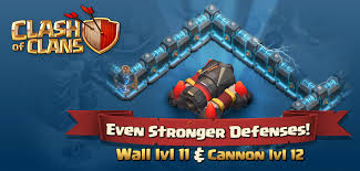 cannon level 12 wall level 11