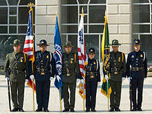 a color guard composed of cbp officers and usbp agents at a washington dc ceremony in may 2007 cbp officer job description