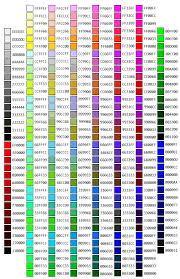Rgb Color Mixing Chart Hex Color Chart Hex Color Codes Hex Color Palette Basic