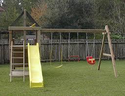 Swing Set Designs Diy Diy Backyard Swing Set Plans Outdoor Furniture Design And