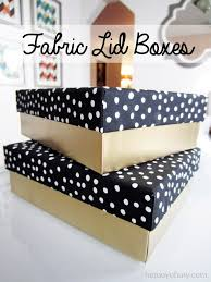 Decorative Gift Boxes With Lids DIY Fabric Lid Boxes Decorative storage Box and Fabrics 16