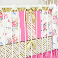 Olivia s Bright Boho Floral Crib Bedding