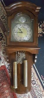 linden wall clock vintage hermle black forest movment tempus fugit weight driven chime wall clock linden wall clock