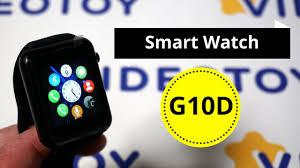 <b>Умные часы Smart Watch</b> G10D - классические смарт часы ...