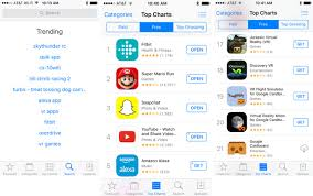 App Store Game Charts App Store Trends Suggest Top Christmas Gifts Vr Drones
