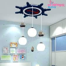 nursery chandelier boy baby