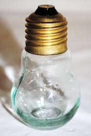 Perfume On Light Bulb Light Bulb Perfume Bottle Travel Collection Glass W Brass