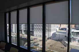 office window blinds. Bentleys Glass Office Partition · Commercial Roller Blinds Window N